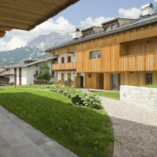 Le ville di Pecol Cortina impresa di costruzioni Cortina Lovisotto