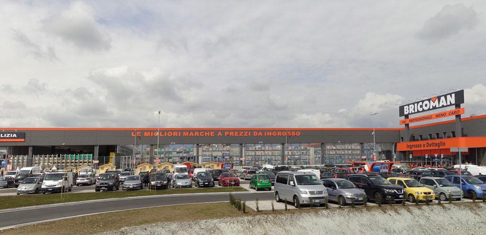 costruzione centro commerciale bricoman san fior impresa costruzioni treviso lovisotto