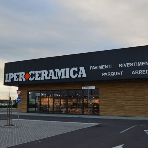 costruzione centro commerciale iperceramica san fior impresa costruzioni treviso Lovisotto
