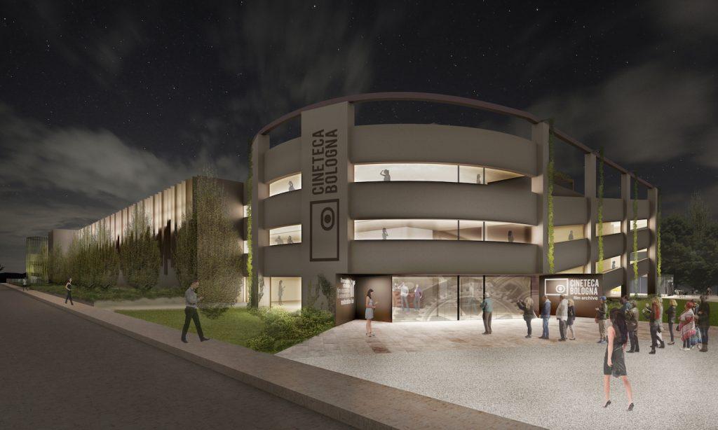 costruzione cineteca bologna parcheggio Giuriolo