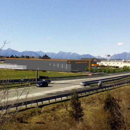 impresa costruzioni lovisotto costruzione centro commerciale bricoman udine