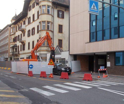 cantiere costruzione nuova sede di ripartizione personale provincia bolzano