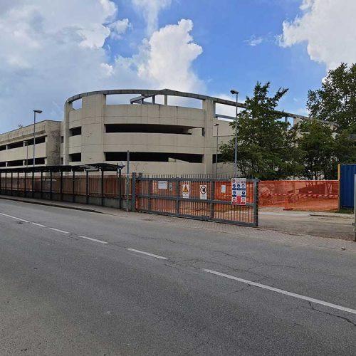 cantiere edile ristrutturazione antisismico cineteca bologna lovisotto