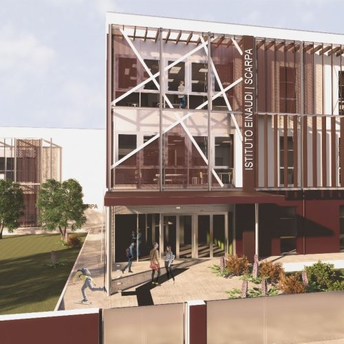 costruzione scuola Montebelluna Ipsia