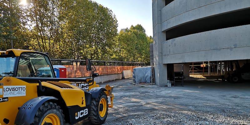 lavori costruzione nuova cineteca Bologna